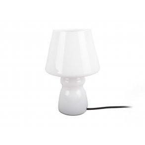 COLUMBINE - BORD LAMPE - HVIDT GLAS