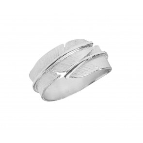 Heiring - Ring - Feather - Small - Sølv
