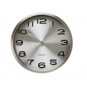 KARLSSON - WALL CLOCK MAXIE STEEL