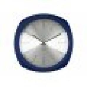 KARLSSON - WALL CLOCK  AESTHETIC SQUARE,  ALU DIAL DARK BLUE