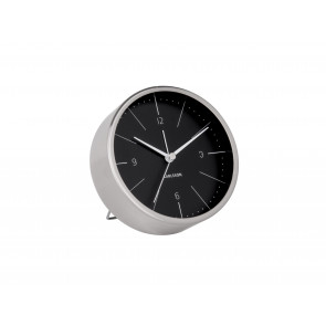 KARLSSON - ALARM CLOCK NORMANN BLACK