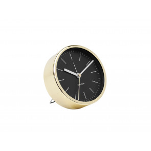 KARLSSON - ALARM CLOCK MINIMAL BLACK