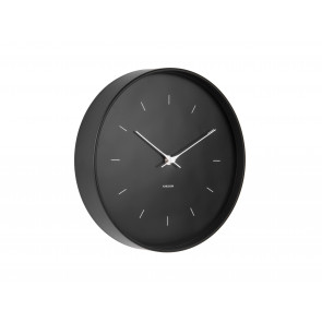 KARLSSON - WALL CLOCK BUTTERFLY HANDS BLACK