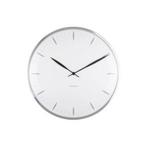 KARLSSON - WALL CLOCK LEAF WHITE