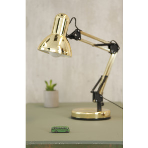 COLUMBINE - BORD LAMPE - GULD